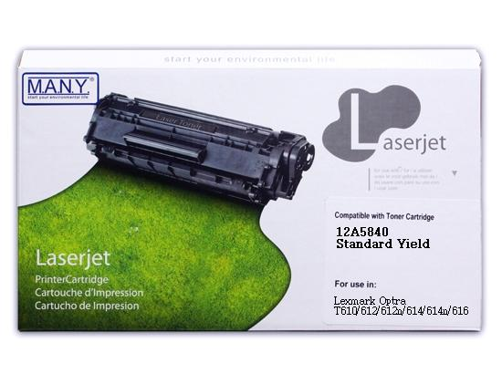 12A5840 Low Remanufactured Toner