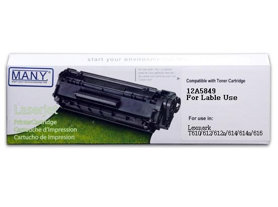 12A5849 For label Remanufactured Toner