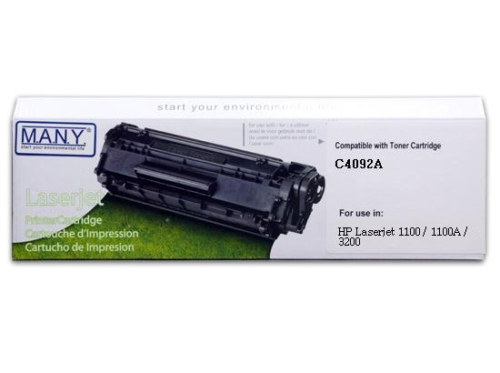 C4092A Remanufactured Toner Cartridge