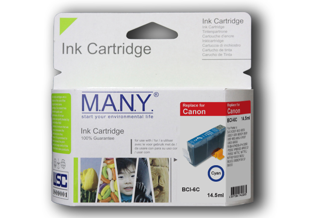 Bci6eC  Cyan Compatible Ink