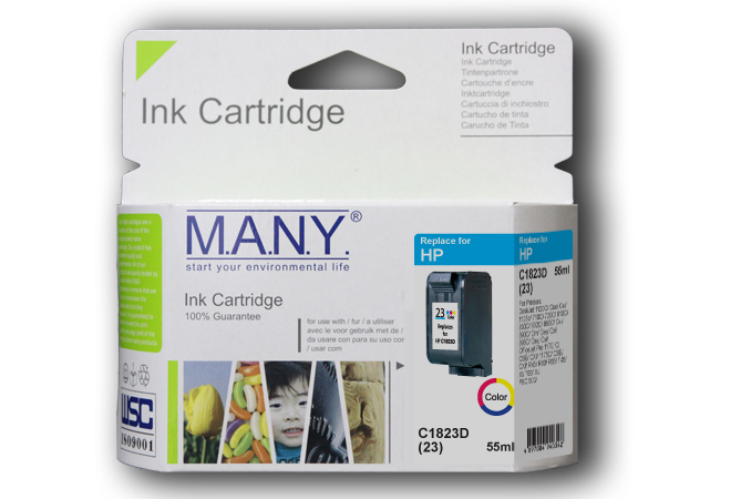 C1823D #23  Color Compatible Ink