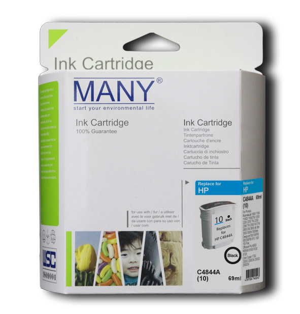C4844A #10 Black Compatible Ink